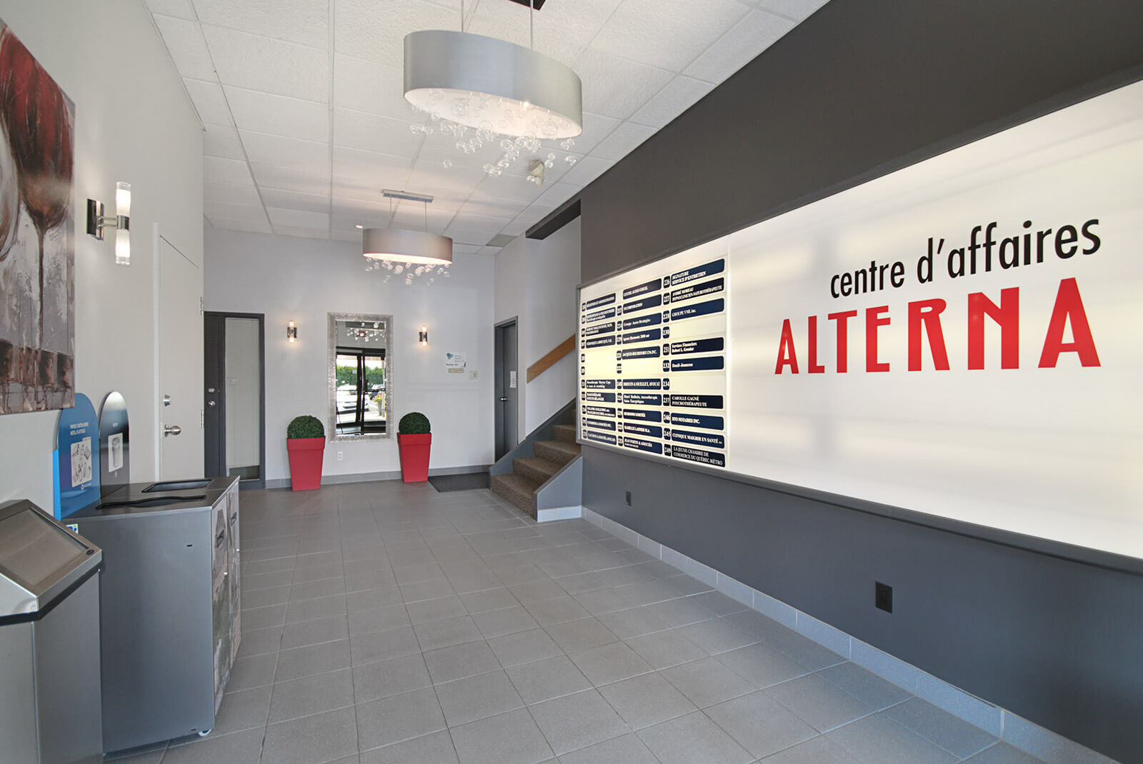 Le Centre d'affaires Alterna - Immeubles Simard
