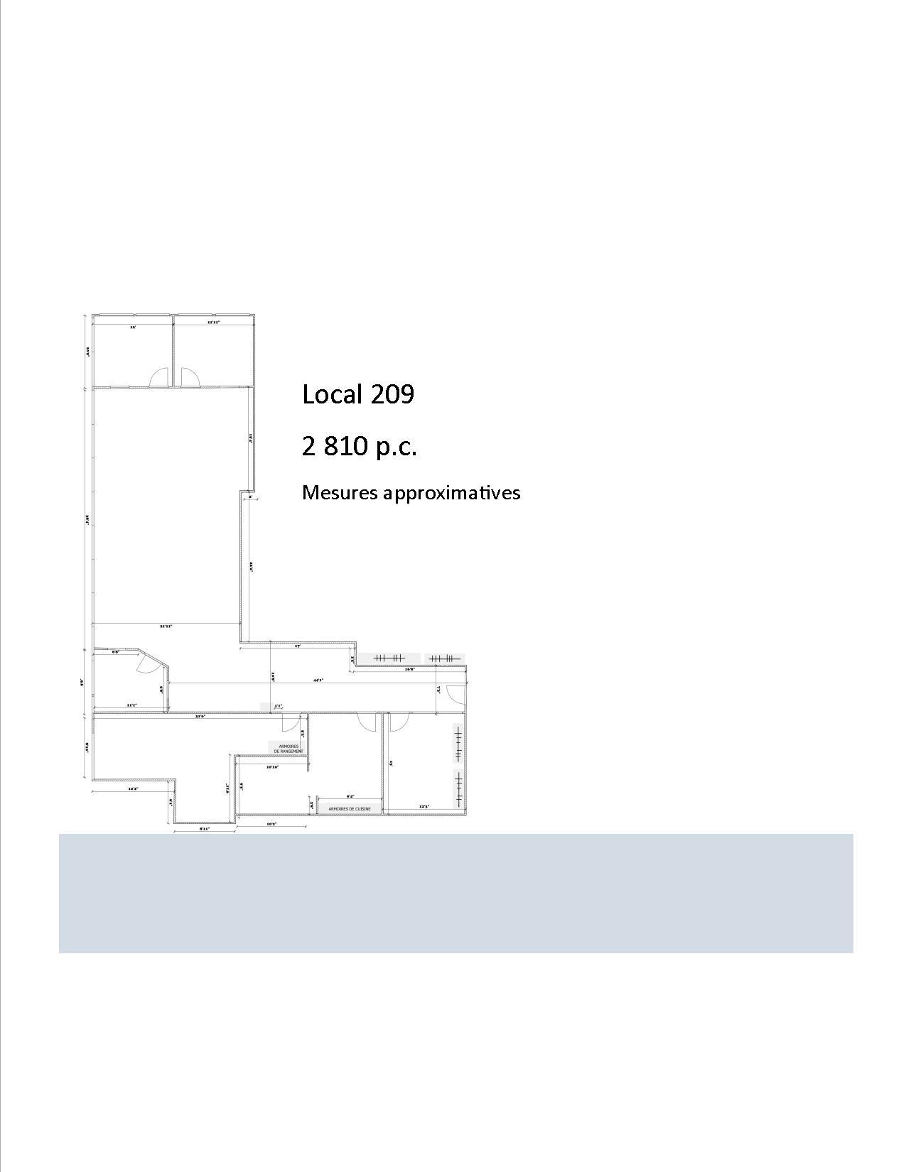 7777, boul. Guillaume-Couture, 2 810 à 8 700 p.c. - Immeubles Simard
