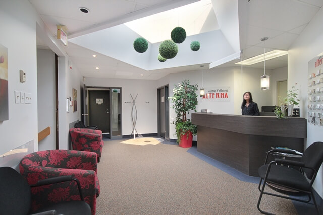 4600, Henri-Bourassa, bureaux à frais partagés - Immeubles Simard