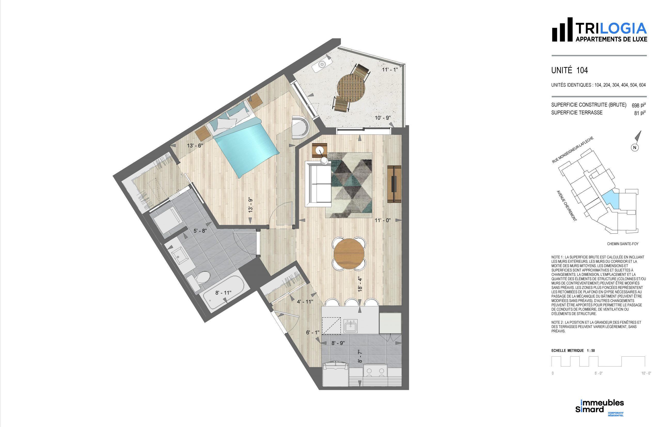 Trilogia 3 1/2 - Immeubles Simard